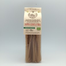 Ricciolina,Pasta Double Wheat Germ and Fiber, 250gr