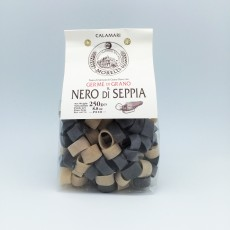 Calamari Seppia, Pasta with wheat Germ and Black Squid Ink, 250gr