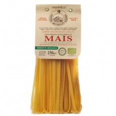 Tagliatelle - pasta with organic corn